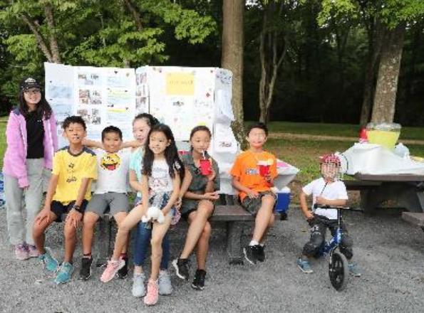 Summer 2019 – Summer Fundraising Event – Lemonade Sale, Tysons, VA, USA