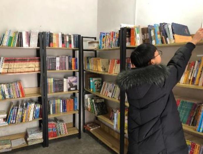 2020 – Established Two Community Libraries: Xuejun Community Library (学军公益图书室), Yuxian, Hebei & Youyang, Chongqing, China